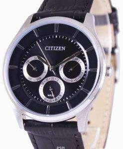 Citizen Multifunction Quartz Black Dial AG8351-01E Mens Watch