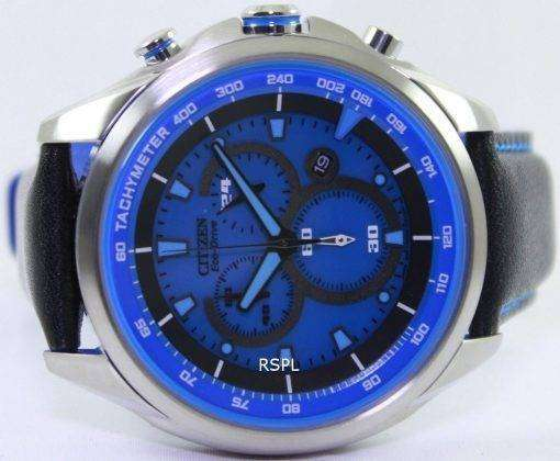 Citizen WDR Eco-Drive Chronograph Tachymeter AT2180-00L Mens Watch