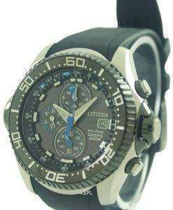 Citizen Promaster Eco Drive Aqualand Chronograph Divers Watch BJ2110-01E BJ2110-01 BJ2110