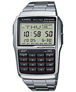 Casio Youth Digital Data Bank 5 Alarm Multi-Lingual DBC-32D-1ADF DBC-32D-1 Mens Watch