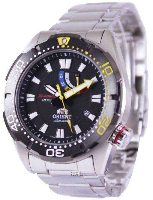 Orient M-Force Automatic Power Reserve 200M EL0A001B Mens Watch