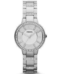 Fossil Virginia Three-Hand Crystal ES3282 Womens Watch