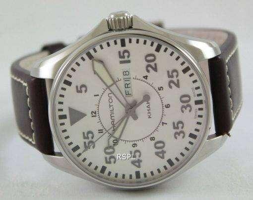 Hamilton Khaki Pilot Quartz H64611555 Mens Watch