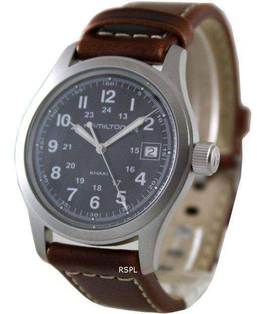 Hamilton Khaki Field Black Dial H68411533 Mens Watch