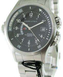 Hamilton Khaki Navy GMT H77615133 Mens Watch