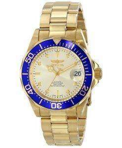 Invicta Automatic Pro Diver 200M Champaign Dial INV9743/9743 Mens Watch