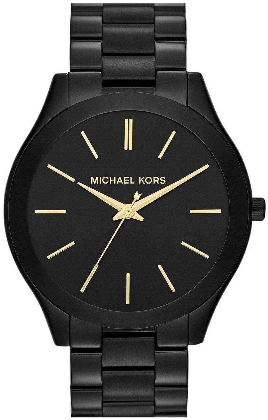 Michael Kors Slim Runway Black Dial MK3221 Womens Watch
