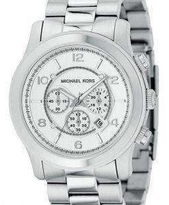 Michael Kors Silver Runway MK8086 Mens Watch