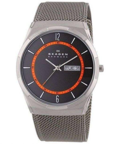 Skagen Melbye Titanium Case with Mesh Band SKW6007 Mens Watch