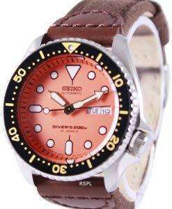Seiko Automatic Divers Canvas Strap SKX011J1-NS1 200M Mens Watch