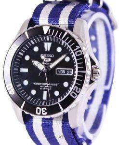 Seiko 5 Sports Automatic NATO Strap SNZF17K1-NATO2 Mens Watch