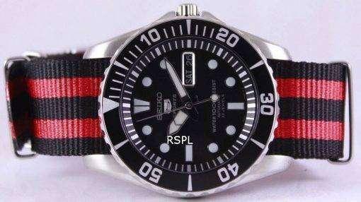 Seiko 5 Sports Automatic NATO Strap SNZF17K1-NATO3 Mens Watch