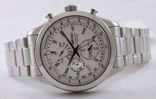 Seiko Chronograph Perpetual SPC123P1 SPC123P SPC123 Mens Watch