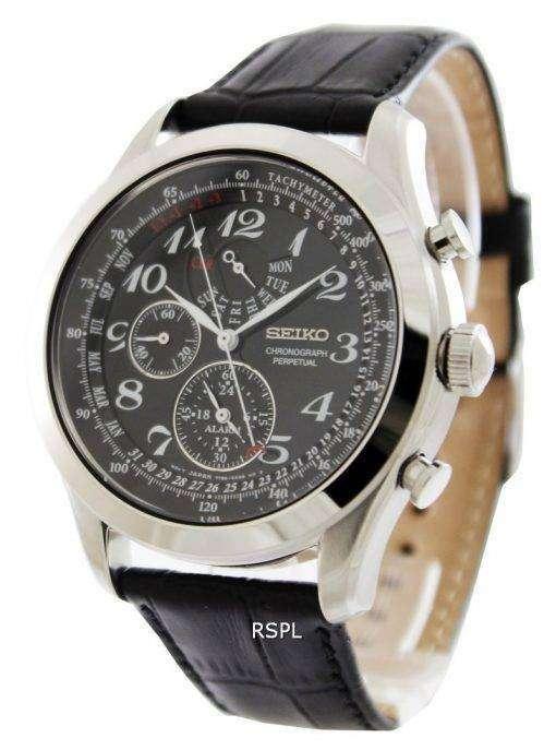Seiko Chronograph Perpetual SPC133P1 SPC133P SPC133 Mens Watch