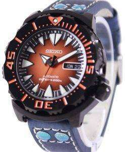 Seiko 5 Sports Automatic Divers 200M Ratio Blue Leather SRP311J1-LS5 Mens Watch
