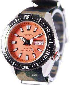 Seiko Superior Automatic Divers 200M NATO Strap SRP497K1-NATO5 Mens Watch