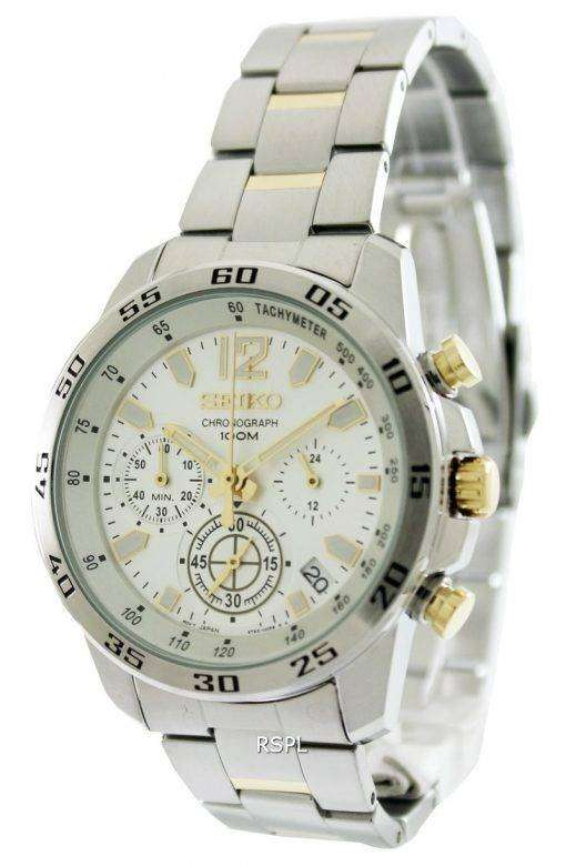 Seiko Neo Sports Chronograph SSB127P1 SSB127P SSB127 Mens Watch