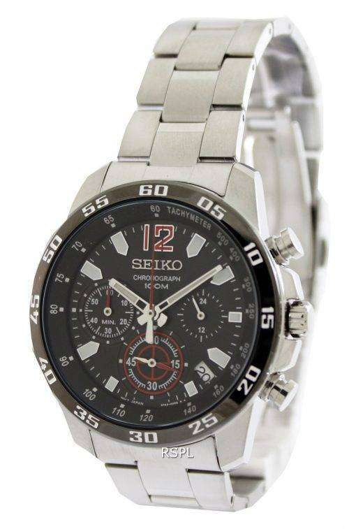 Seiko Sports Chronograph SSB129P1 SSB129P SSB129 Mens Watch