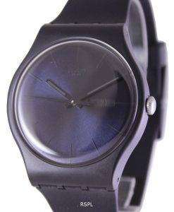 Swatch Originals Black Rebel Swiss Quartz SUOB702 Unisex Watch