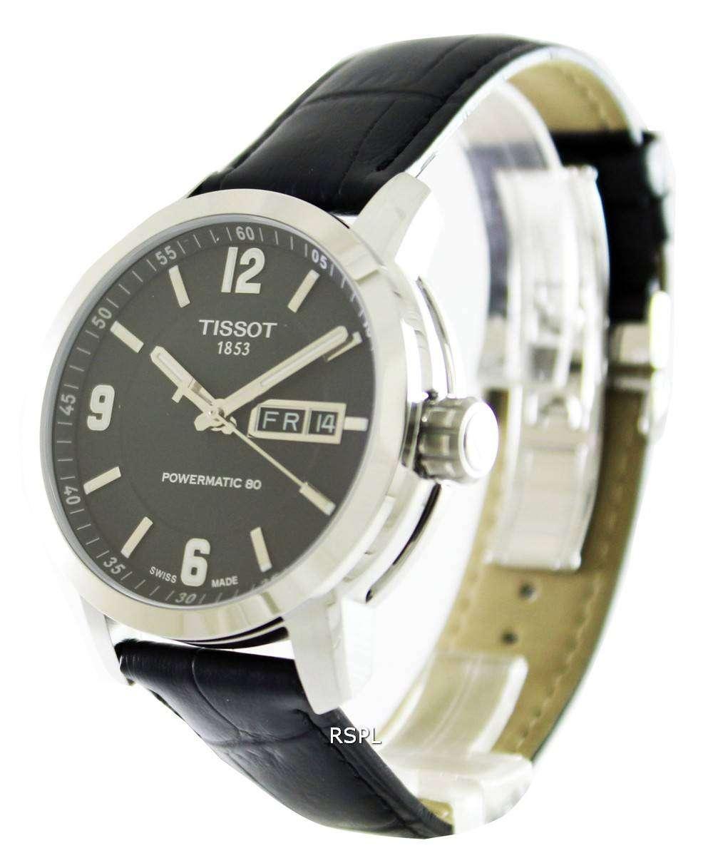 Tissot T-Sport PRC 200 Automatic Black Dial T055.430.16.057.00 Mens Watch