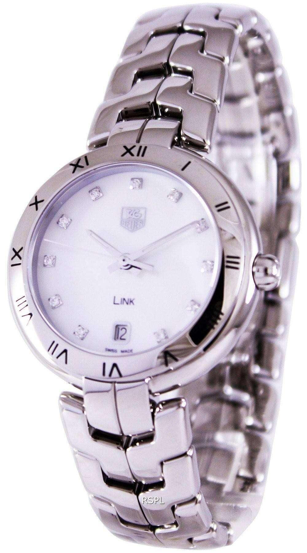 Tag Heuer Link Bracelet Diamond Dial WAT1315.BA0956 Womens Watch