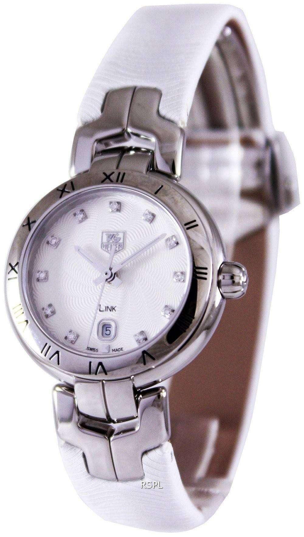Tag Heuer Link Bracelet Diamond Dial WAT1411.FC6316 Womens Watch