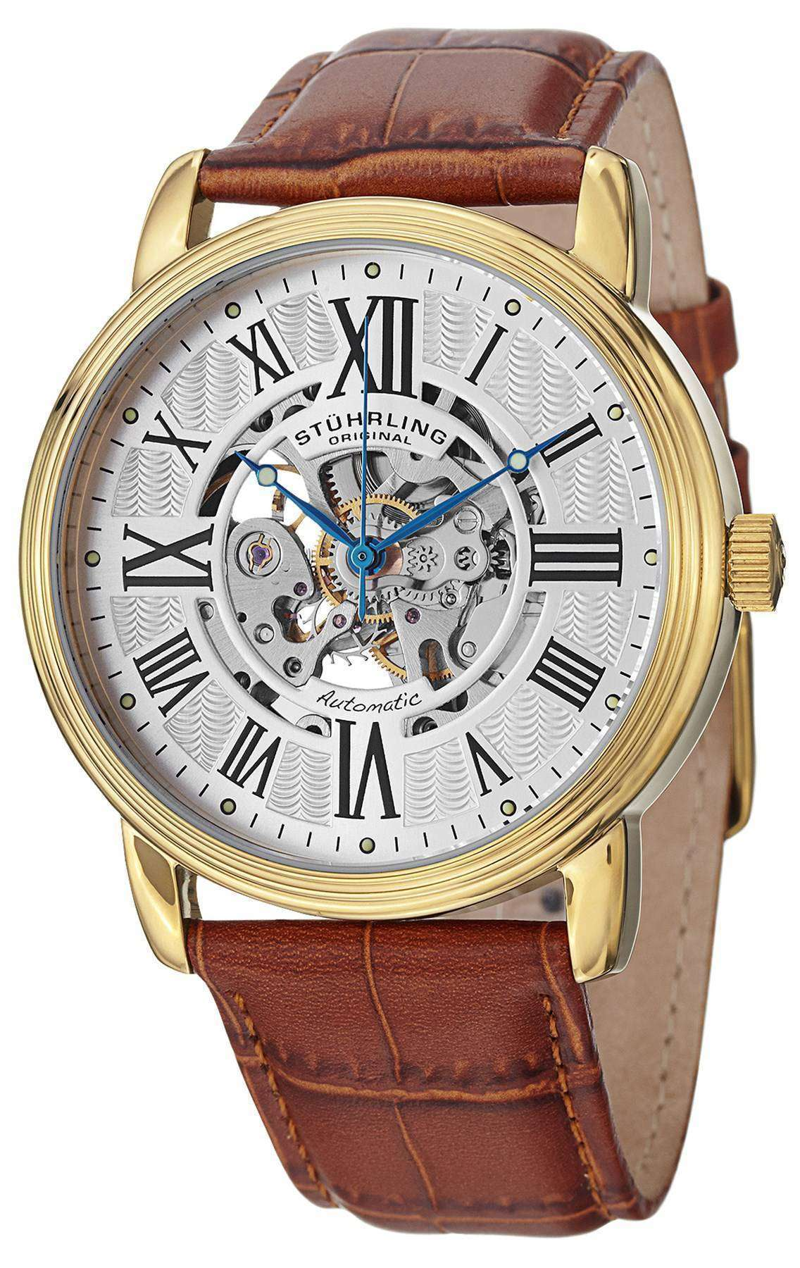 Stuhrling Original Classic Delphi Venezia Automatic 1077.3335K2 Mens Watch
