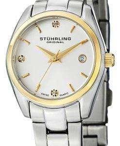 Stuhrling Original Ascot Prime Swiss Quartz Date Display 414L.03 Womens Watch