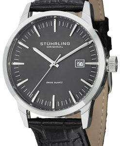 Stuhrling Original Classic Ascot 42 Swiss Quartz Date Display 555A.02 Mens Watch