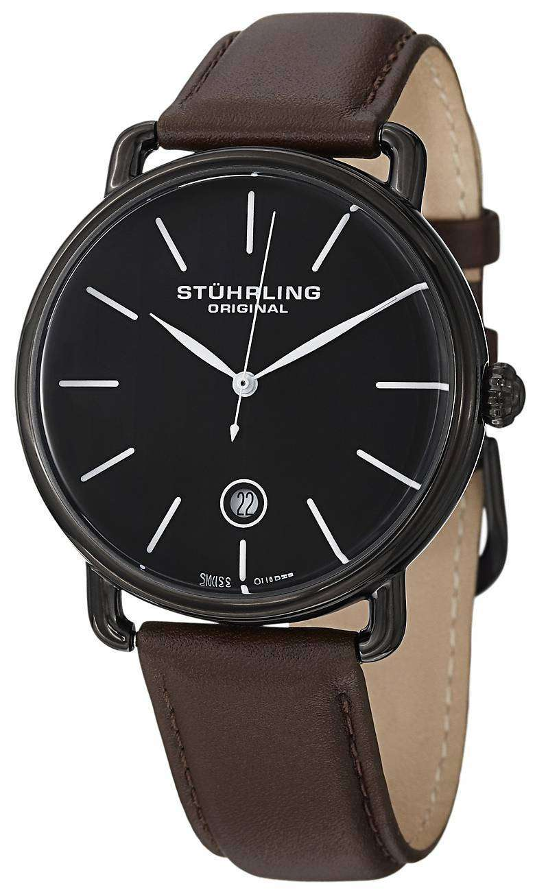 Stuhrling Original Ascot Swiss Quartz 768.03 Mens Watch