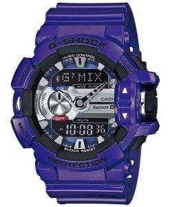 Casio G-Shock GMIX Bluetooth Smart World Time Analog-Digital GBA-400-2A Mens Watch