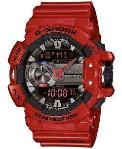 Casio G-Shock GMIX Bluetooth Smart World Time Analog-Digital GBA-400-4A Mens Watch