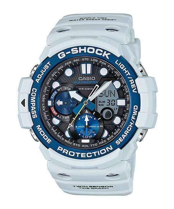 Casio G Shock GULFMASTER Twin Sensor GN 1000 C 8 A Men's Watch