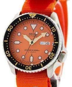 Seiko Automatic Diver's 200M NATO Strap SKX011J1-NATO7 Men's Watch
