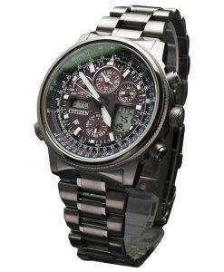 Citizen Promaster SKY Titanium Eco-Drive Atomic JY8025-59E Mens Watch