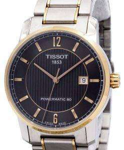Tissot T-Classic Titanium Automatic T087.407.55.067.00 T0874075506700 Mens Watch