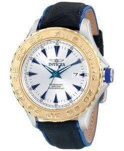Invicta Pro Diver Quartz Silver Dial 200M 12615 Mens Watch