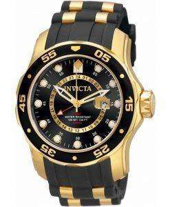 Invicta Pro Diver GMT Quartz 100M 6991 Mens Watch