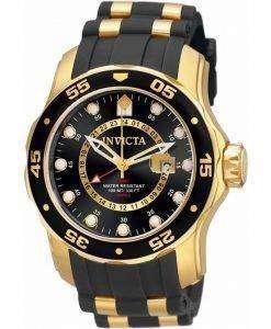 Invicta Pro Diver GMT Quartz 100M 6991 Mens Watch