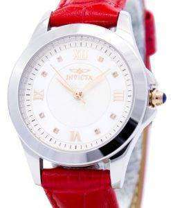 Invicta Angel Diamond-Accented Quartz Leather Strap 12544 Women's Watch
