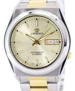 J.Springs 自動 21 宝石日本精工に作られた BEB503 メンズ腕時計