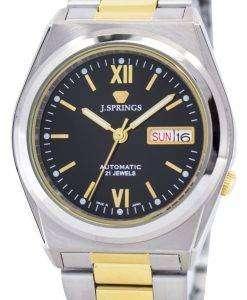 J.Springs 自動 21 宝石日本精工に作られた BEB511 メンズ腕時計