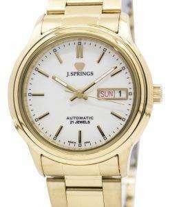 J.Springs 自動 21 宝石日本精工に作られた BEB528 メンズ腕時計