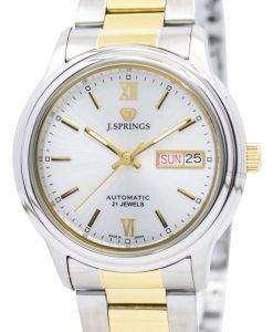 J.Springs 自動 21 宝石日本精工に作られた BEB529 メンズ腕時計