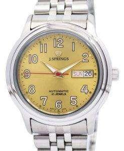 J.Springs 自動 21 宝石日本精工に作られた BEB536 メンズ腕時計