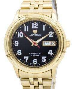 J.Springs 自動 21 宝石日本精工に作られた BEB537 メンズ腕時計