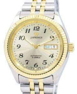 J.Springs 自動 21 宝石日本精工に作られた BEB556 メンズ腕時計