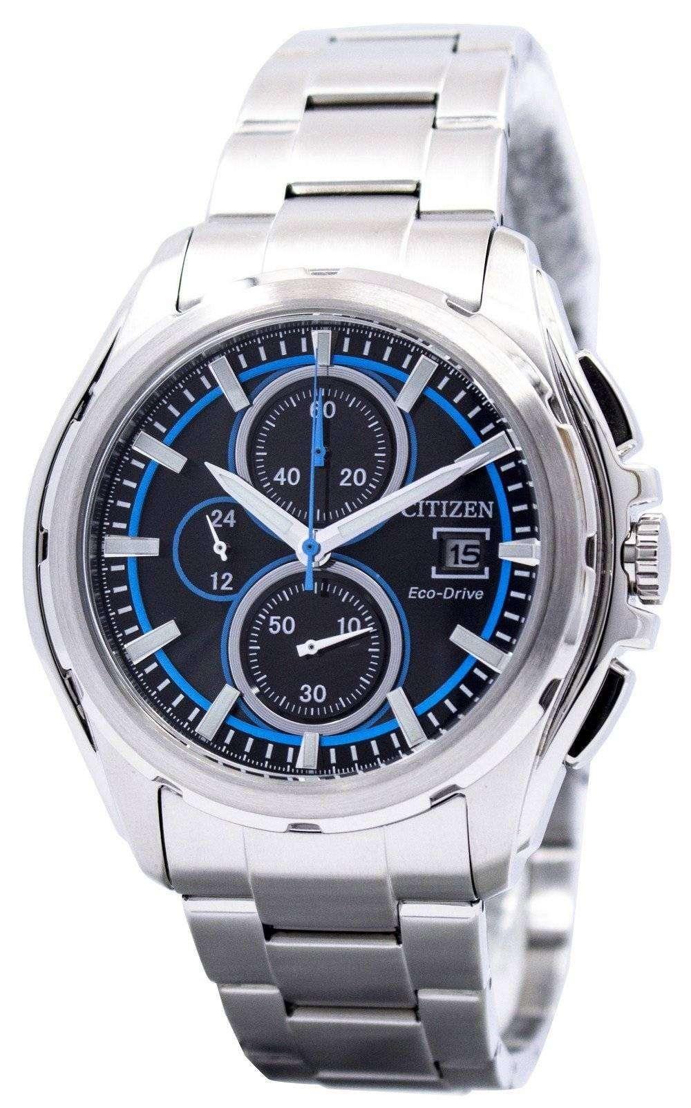 シチズン エコ ・ ドライブ CA0270-59E メンズ時計をレース クロノグラフ