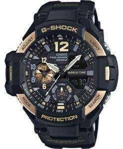 Casio G-Shock GRAVITYMASTER Twin Sensor World Time GA-1100-9G Men's Watch