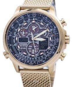 市民 Navihawk が T エコドライブ クロノグラフ JY8033 51E メンズ腕時計